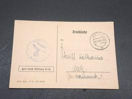 ALLEMAGNE - Carte Officielle Du Travail De Metz Pour Metz En 1941 - L 17673 - Allemagne