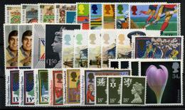 2832- Gran Bretaña Nº 1247/51, 1253/9, 1226/44 - 1952-.... (Elizabeth II)