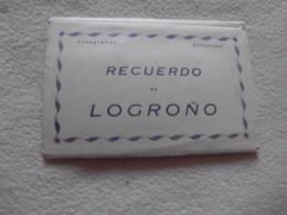 CARNET INCOMPLET DE  3 CARTES(sur ?) ..LOGRONO - La Rioja (Logrono)
