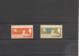 St VINCENT Année 1963  Centenaire Union Internationale En Télécommunication N°Y/T : 205/206** - St.Vincent (1979-...)
