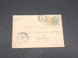 BELGIQUE - Entier Postal Repiquage Commerciale De Bruxelles Pour Heilbronn En 1881 - L 17686 - Stamped Stationery