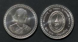 Thailand Coin 20 Baht 2005 50th Birthday Of Princess Y423 UNC - Thailand