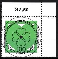 RFA - Protection De L'environnement YT 1566 Obl. / Bund - Umweltschutz Mi.Nr. 1737 Gest. - [7] République Fédérale