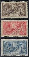 Grande Bretagne, N° 153 à 155 * Infime Charnière - Unused Stamps