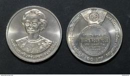 Thailand Coin 10 Baht 1990 World Health Organization Y244 UNC - Thailand