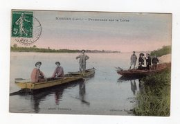 Mosnes ( I Et L ) - Promenade Sur La Loire , Couleur , Animation, Barques - 37 - - Autres Communes