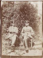 Photo Mai 1915 VERLINGHEM (près Quesnoy-sur-Deûle) - Le Lieutenant Linke Et Le Lieutenant Sperling (A100, Ww1, Wk 1) - Frankreich