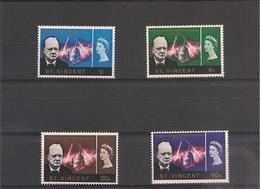 St VINCENT Année 1966  Anniversaire De La Mort De Winston Churchill N°Y/T : 222/225** - St.Vincent (1979-...)