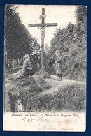 Cheneux (Stoumont). La Gleize. Le Christ De La Profonde Voie. 1905 - Stoumont