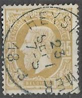 8Bs-722:N°32:E9: HEYST-SUR-MER - 1869-1883 Leopold II