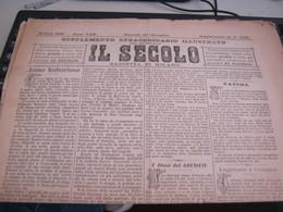 GIORNALE  IL SECOLO 15 DICEMBRE 1887 - War 1939-45