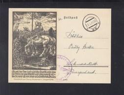 Dt. Reich SS Totenkopf Standarte 1941 Warschau Nach Litzmannstadt - Cartas