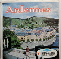 VIEW MASTER  POCHETTE DE 3 DISQUES  :  ARDENNES    C 368 - Stereoscopes - Side-by-side Viewers