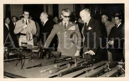 Postcard / ROYALTY / Belgium / Belgique / Roi Baudouin / Koning Boudewijn / Mohammad Reza Pahlavi / Iran / 1960 - Herstal