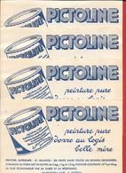 4 Buvards Anciens Peinture PICTOLINE Produit LORY -Dépot J.ABRAM Fers & Quincaillerie à MANOSQUE (B-A) (NECTAR CHAMBRELE - Paints