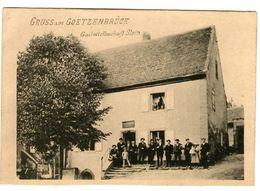 Gruss Aus GOETZENBRUCK - Gastwirthschaft Stein - Pierre D'accueil - France