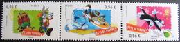 1716 - 2009 - FÊTE DU TIMBRE - DESSINS ANIMES - BANDE DE 3 TIMBRES NEUFS** - N°4338 à 4340 - France