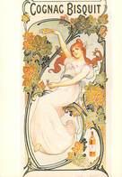 PUB Publicité  NUGERON  J 5 Nos Publicités En 1900 - COGNAC BISQUIT * PRIX FIXE - Publicité
