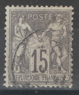 France - YT 66 Oblitéré - 1876-1878 Sage (Type I)