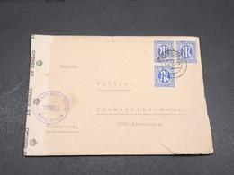 ALLEMAGNE - Enveloppe De Düsseldorf Pour La France En 1946 Avec Contrôle Postal , Affranchissement Plaisant - L 17724 - Zone Anglo-Américaine
