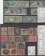 TIMBRE DES ETATS-UNIS   PA   OBLITERES /  * / Nr  VOIR SUR PAPIER AVEC TIMBRES  COTE 177.80 EURO - Air Mail