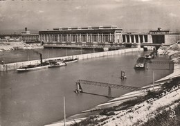 BOLLENE Le Barrage écluse Sur Le Canal De Donzere Mandragon Et L'usine Blondel 474G - Bollene