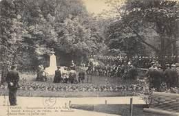 CPA 10 TROYES INAUGURATION ET REMISE A LA VILLE DU MONUMENT D HECTOR PRON 14 JUILLET 1907 - Troyes