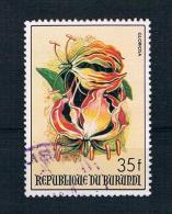 Burundi 1986 Blumen Mi.Nr. 1677 Gestempelt - Burundi