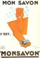PUB Publicité  NUGERON  J 77 Nos Publicités MONSAVON C'est MONSAVON   Jean CARLU *PRIX FIXE - Publicité