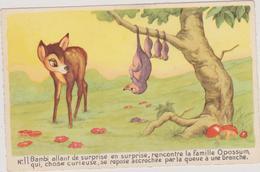 (R7) Par Autorisation : WALT DISNEY-MICHEY-MOUSSE  ,  N  11BAMBI Rencontre La Famille OPOSSUM - Bandes Dessinées