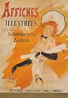 PUB Publicité  NUGERON  J 16 Nos Publicités  Affiches Illustrées De La Maison Ch GORDINNE Et Fils LIEGE   *PRIX FIXE - Publicité