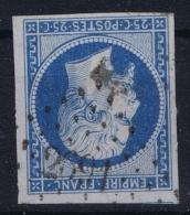 France : Yv Nr 15 Obl./Gestempelt/used  PC 2691  Roanne - 1853-1860 Napoleon III