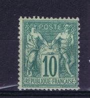 France : Yv Nr  65 MH/* Flz/ Charniere  Type I - 1876-1878 Sage (Type I)