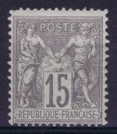 France : Yv Nr  66 MH/* Flz/ Charniere  Type I - 1876-1878 Sage (Type I)