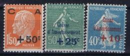 France : Yv Nr  246  - 248 Postfrisch/neuf Sans Charniere /MNH/** - France