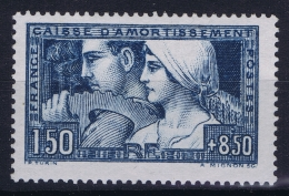 France : Yv Nr  252 B  MH/* Flz/ Charniere 1928 - France