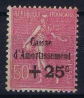 France : Yv Nr  254 A Sans Point Amortissement  Postfrisch/neuf Sans Charniere /MNH/** 1929 - France