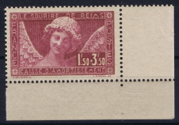 France : Yv Nr  256 Coin De Feuille  Postfrisch/neuf Sans Charniere /MNH/**  1929 - France