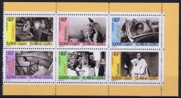 France Yv 3262 - 3267  Ex Carnet Avec Double Impression Postfrisch/neuf Sans Charniere /MNH/** Cat Valeur 1650 Euro - Errors & Oddities