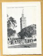 Carte Voeux Double - CASABLANCA - Mosquée En Nouvelle Médina - Nieuwjaar