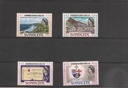 St VINCENT Année 1967  Conférence Des églises Méthodistes Des Antilles N°Y/T : 234/37** - St.Vincent (1979-...)