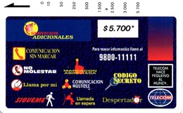 *COLOMBIA* - Scheda Usata - Colombia