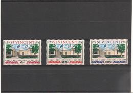 St VINCENT Année 1968  Journée Météorologique Mondiale N°Y/T : 238/40** - St.Vincent (1979-...)