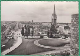 14 - Caen - Vue Générale Sur L'Avenue Du Six Juin Et L'église Saint Pierre - Editeur: Yvon N°5821 - Caen