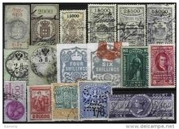 WORLDWIDE REVENUES, Accumulation, */o M/U, Ave/Fine - Stamps