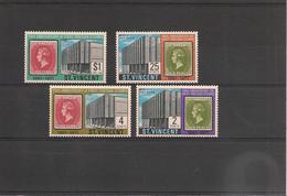 St VINCENT Année 1971 Anniversaire Du 1er Timbre Poste N°Y/T : 294/97** - St.Vincent (1979-...)