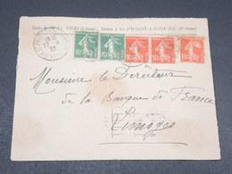 FRANCE - Enveloppe Commerciale De Saint Priest Ligoure Pour Limoges En 1929 - L 17762 - 1921-1960: Modern Tijdperk