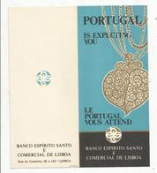 Publicité , Banco Espirito Santo E Comercial De LISBOA, , 4 Pages , 2 Scans , Frais Fr 1.45 E - Advertising