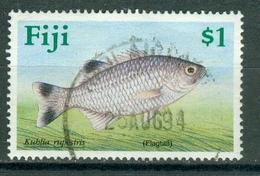 BM Fiji 1990 - MiNr 617 - Used - Fische Barsch - Fiji (1970-...)
