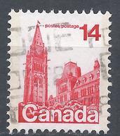 Canada 1978. Scott #715 (U) Parliament Ottawa * - 1952-.... Règne D'Elizabeth II